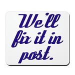 Fix it in Post Avid Mousepad