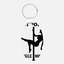 Support Single Moms Keychains