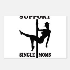 Support Single Moms Postcards (Package of 8)