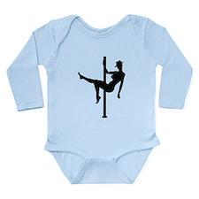 Stripper Long Sleeve Infant Bodysuit