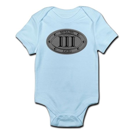 Molon Labe Oval Infant Bodysuit
