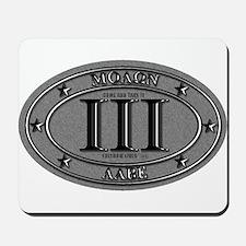 Molon Labe Oval Mousepad