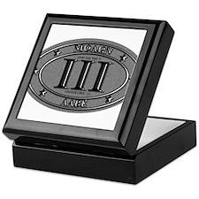 Molon Labe Oval Keepsake Box