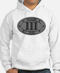 Molon Labe Oval Hoodie