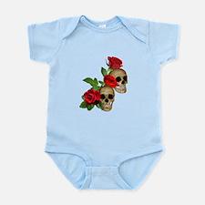 Skulls Roses Infant Bodysuit