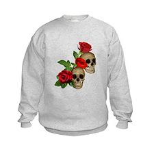 Skulls Roses Sweatshirt
