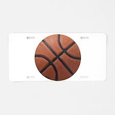 Basketball Tilt Aluminum License Plate