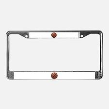Basketball Tilt License Plate Frame