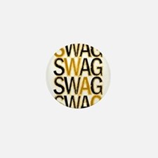 Swag (Gold) Mini Button