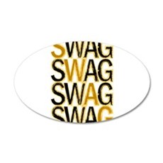 Swag (Gold) Wall Decal