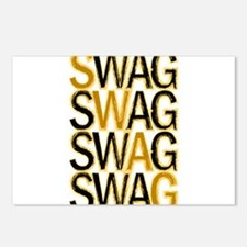Swag (Gold) Postcards (Package of 8)