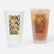 Swag (Gold) Drinking Glass