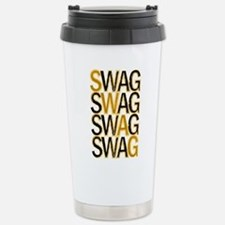 Swag (Gold) Stainless Steel Travel Mug
