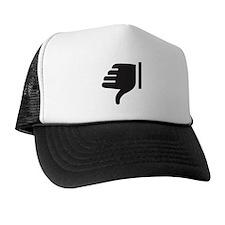 Thumbs Down Trucker Hat
