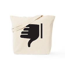 Thumbs Down Tote Bag