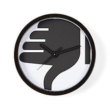 Thumbs Down Wall Clock