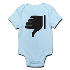 Thumbs Down Infant Bodysuit