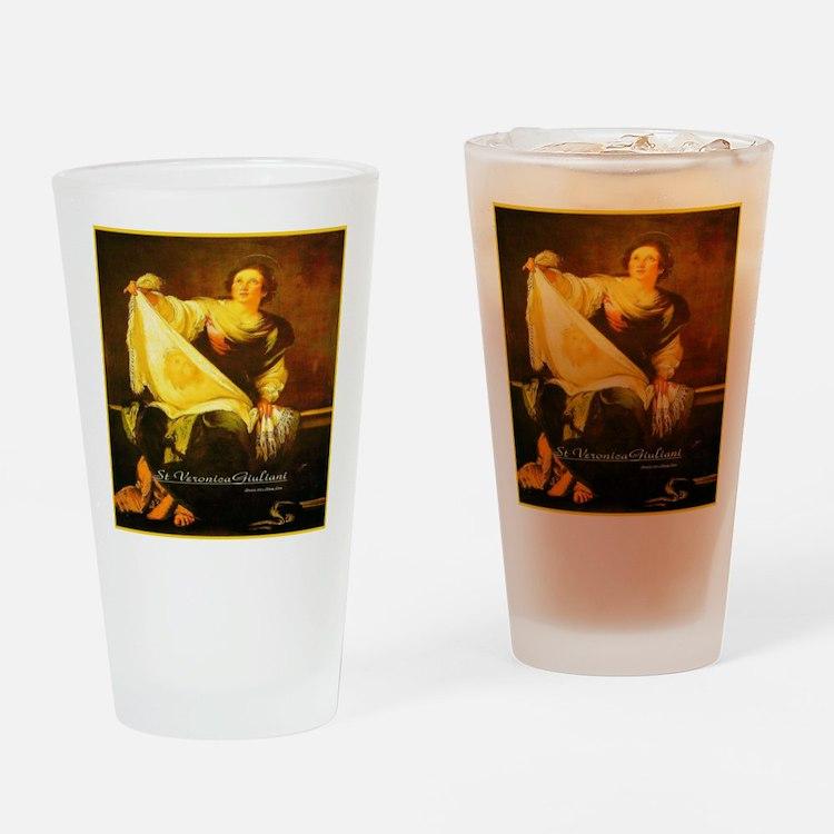 St Veronica Giuliani Turin Drinking Glass