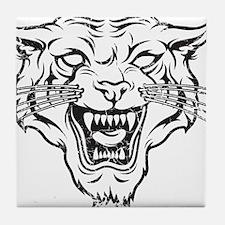 Wild Cat Tile Coaster