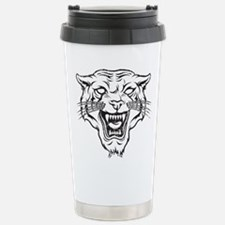 Wild Cat Stainless Steel Travel Mug
