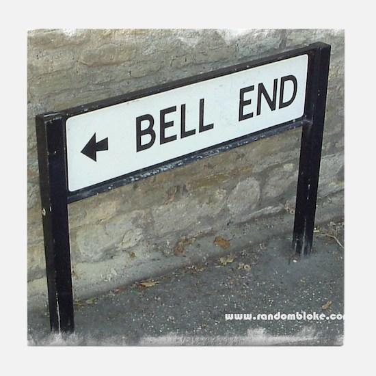 Bell End Tile Coaster