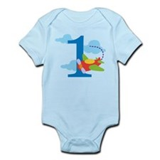 1st Birthday Airplane Onesie