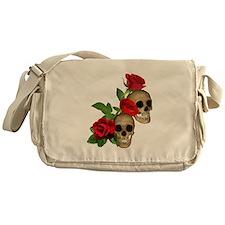 Skulls Roses Messenger Bag