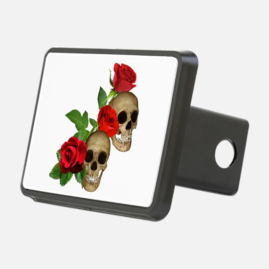 Skulls Roses Hitch Cover