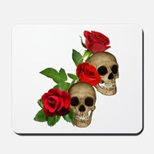 Skulls Roses Mousepad