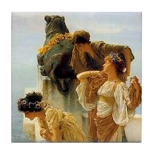 Sir Lawrence Alma-Tadema A Coign Of Vantage Tile C