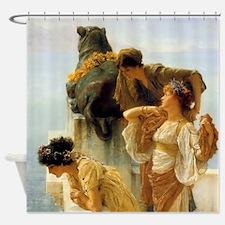 Sir Lawrence Alma-Tadema A Coign Of Vantage Shower