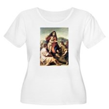 Andrea del Sarto The Virgin And Child T-Shirt