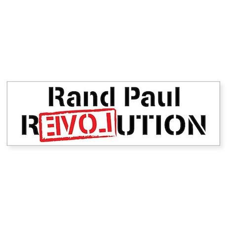 Rand Paul Revolution Sticker (Bumper 10 pk)