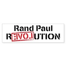 Rand Paul Revolution Bumper Sticker