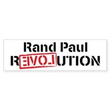 Rand Paul Revolution Bumper Sticker