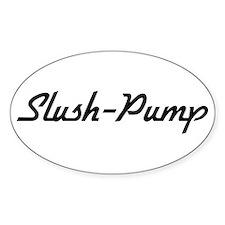 Slush-Pump Oval Decal