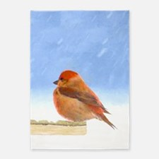 Scarlet Tanager 5'x7'Area Rug