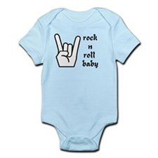 rock n roll baby Infant Bodysuit