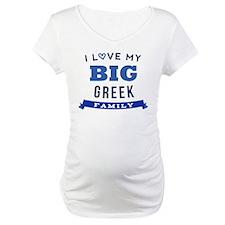 I Love My Big Greek Family Shirt