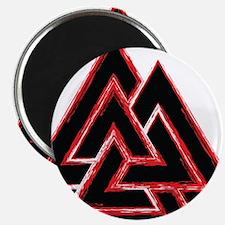 Valknut (red) Magnet