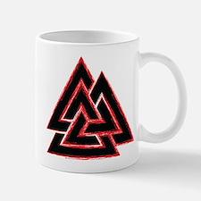 Valknut (red) Mug