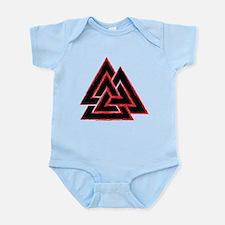 Valknut (red) Infant Bodysuit