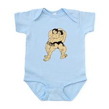 Sumo Wrestling Infant Bodysuit