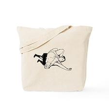 Wrestling Pin Tote Bag