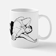 Wrestling Pin Mug