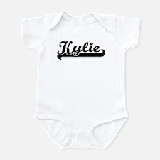 Black jersey: Kylie Infant Bodysuit