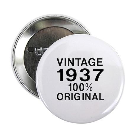 """Vintage 1937 Birthday Desi 2.25"""" Button (100 pack)"""