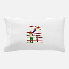 Wrestling Body Slam Pillow Case