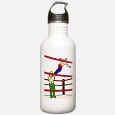 Wrestling Body Slam Water Bottle