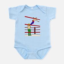 Wrestling Body Slam Infant Bodysuit